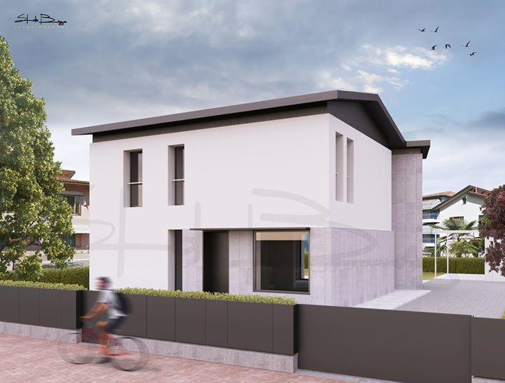 Reinterpretazione architettonica di un fabbricato residenziale unifamiliare