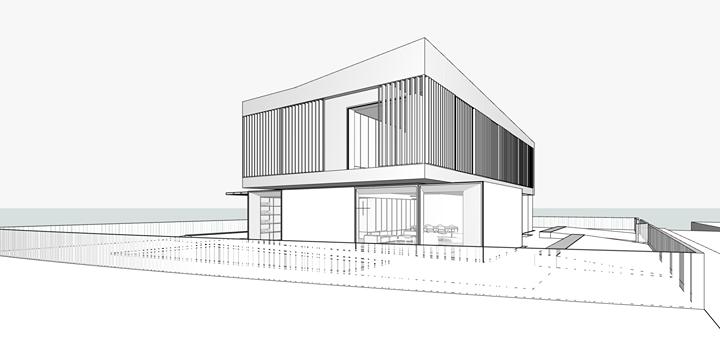 Prime bozze di progetto per una villa dalle linee contemporanee. A presto i render!
