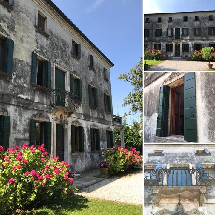 Nuova ristrutturazione di un palazzetto d'epoca in fregio al naviglio del Brenta