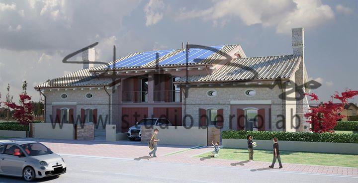 Nuovo progetto fabbricato residenziale bifamiliare. Che cosa ne pensate?