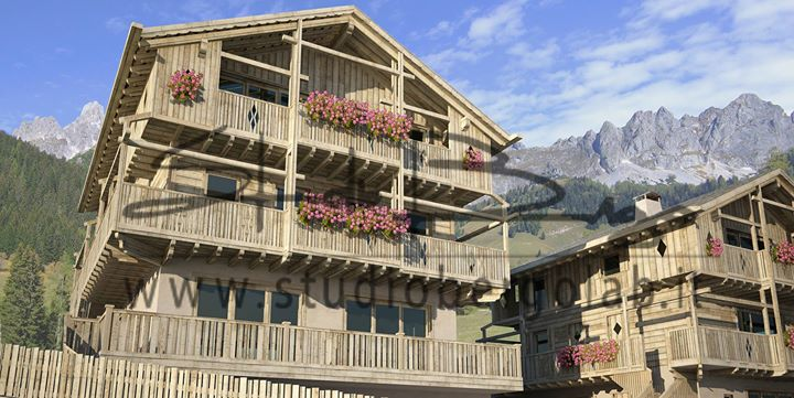 _ esclusivo intervento turistico nel cuore delle Dolomiti