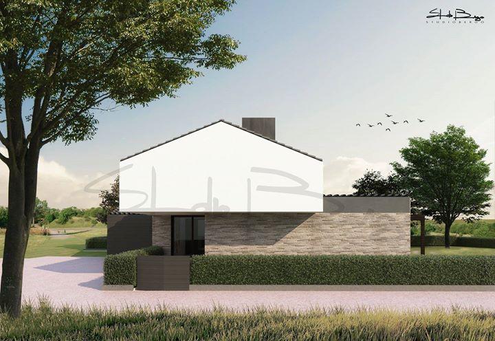 Nuovo progetto per una villa immersa nel verde