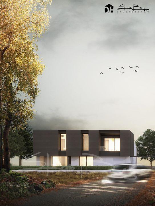 Ed ecco il render della villa singola nell'area residenziale Teresa Casati ad Olmo di…
