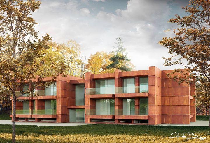 Nuovo intervento residenziale || Progetto: Arch. Lanfranco Pollini || Grafica: Studio Bergo