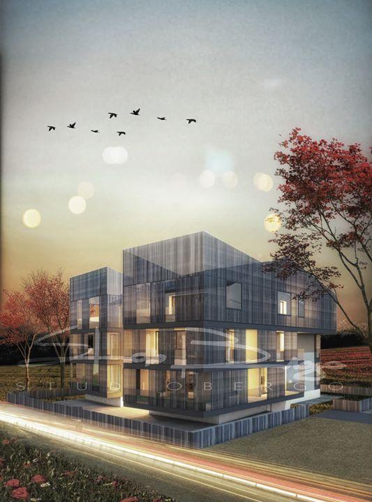 Nuovo progetto per un edificio residenziale #studiobergo #brisesoleil #nuoveresidenze #newproject #architecture #design