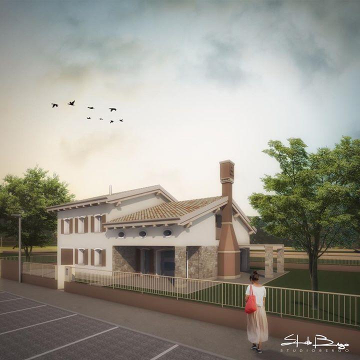 Nuova residenza #render #new project #classic #studiobergo